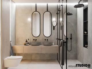 MIKOŁAJSKAstudio Minimalist style bathroom