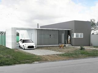 CASA VEINTIOCHO Casas modernas: Ideas, imágenes y decoración de nous arquitectos Moderno
