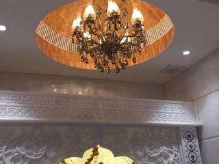 Ashok Vihar Residence - Lighting Modern corridor, hallway & stairs by Jainsons Emporio Modern