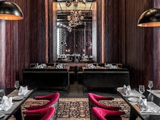 Hemant Oberoi Restaurant - Lighting Eclectic style bars & clubs by Jainsons Emporio Eclectic