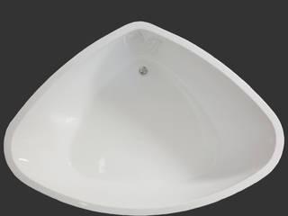 Freistehende Badewanne Galatea Ocean A 190 x 135 x 55 Weiß inkl. Verkleidung:   von T&R Design GmbH