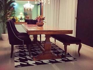 Delhi Residences - Lighting Modern dining room by Jainsons Emporio Modern