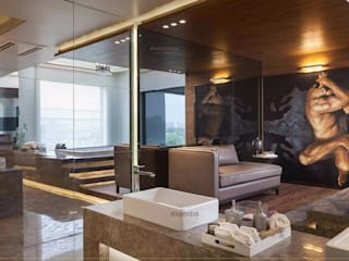 Salas de estilo moderno por Jainsons Emporio