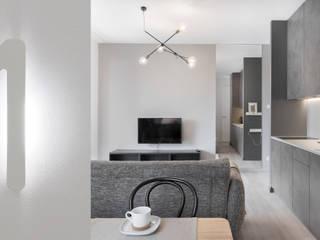 Ruang Keluarga Modern Oleh formativ. indywidualne projekty wnętrz Modern
