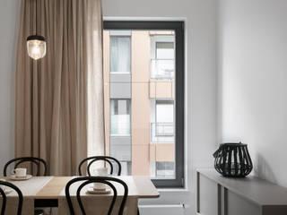 Ruang Makan Modern Oleh formativ. indywidualne projekty wnętrz Modern