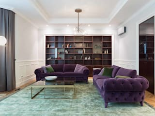 Wisp Architects Living roomSofas & armchairs Purple/Violet
