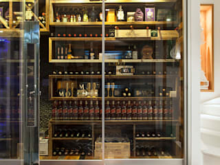 Ruang Penyimpanan Wine/Anggur Modern Oleh Daniela Andrade Arquitetura Modern