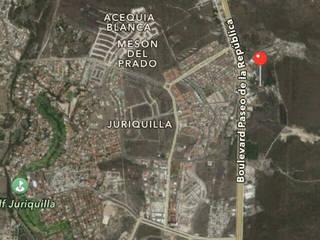 Excelente ubicación muy cerca de Juriquilla y Plaza Antea: Espacios comerciales de estilo  por RoGer Real Estate Brokers & Contractors