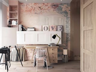 MIKOŁAJSKAstudio Girls Bedroom
