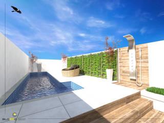 مسبح حديقة تنفيذ Bloco Arquitetura e Engenharia