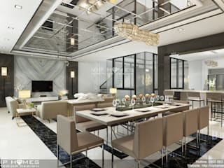 Không gian nội thất phòng ăn:   by Công ty TNHH Kien Xay Nha