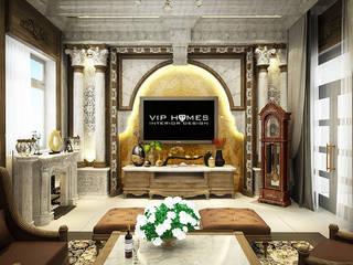 Thiết kế nội thất biệt thự theo phong cách cổ điển:   by Công ty TNHH Không Gian Mo