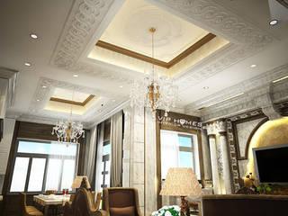 Thiết kế nội thất biệt thự theo phong cách cổ điển:   by Công ty TNHH Kien Xay Nha