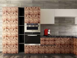 Cucina e soggiorno su misura Cucina moderna di 2mgdesignsolution Moderno