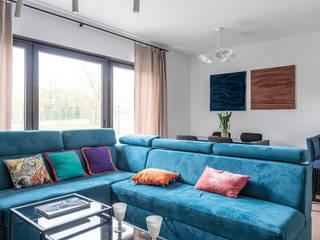 Salon moderne par MK Design Magdalena Kostyra Moderne