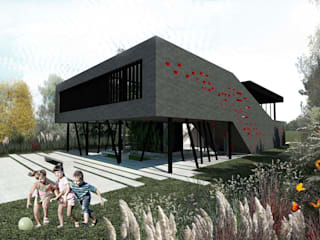 Single family home by Speziale Linares arquitectos