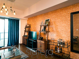 Statera Design Rustic style living room