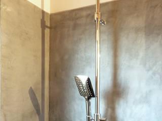 Rustic style bathroom by Studio Architettura x Sostenibilità Rustic