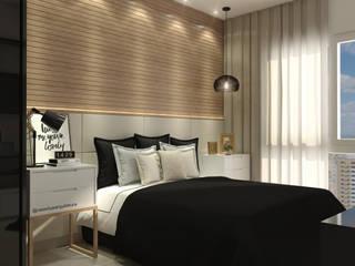 CASA DUE ARQUITETURA Camera da letto moderna