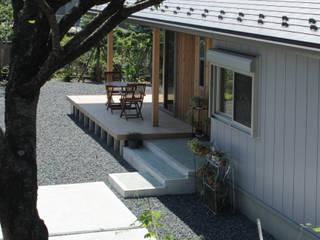 外観 : 塚野建築設計事務所が手掛けた木造住宅です。