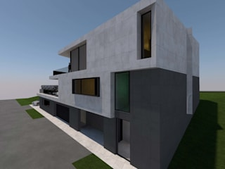 Villa am Sandbuckel:  Villa von Peter Stasek Architects - Corporate Architecture
