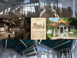 Pedro de Almeida Carvalho, Arquitecto, Lda Casa di legno Legno massello Bianco