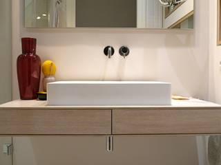 Minibad:  Badezimmer von ANKELIETZKE  Innenarchitektin