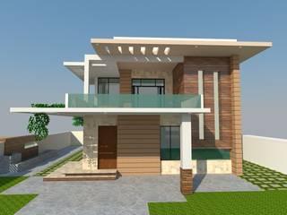 Residence - Mr. S. Narayan by S. KALA ARCHITECTS Modern