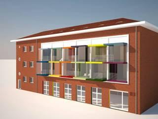 seconda soluzione di riuso funzionale :  in stile  di Simone Fratta Architetto
