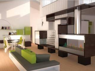 Appartamento a Miami:  in stile  di Simone Fratta Architetto