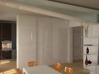 Ristrutturazione : Sala da pranzo in stile  di Simone Fratta Architetto