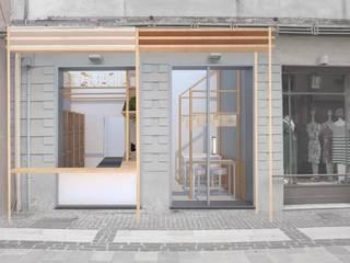 Locale commerciale 2017:  in stile  di Simone Fratta Architetto