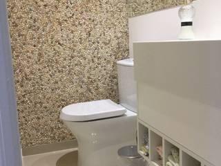 Lavabo: Banheiros  por Estúdio Sá Arquitetura