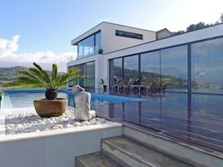 AD+ arquitectura Infinity pool Marble White