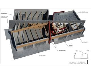 centro aggregativo polivalente: Sala multimediale in stile  di Simone Fratta Architetto
