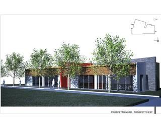 centro aggregativo polivalente: Case in stile  di Simone Fratta Architetto