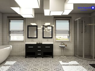 Bathroom Minimalist style bathroom by 'Design studio S-8' Minimalist