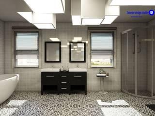 Banheiros minimalistas por 'Design studio S-8' Minimalista