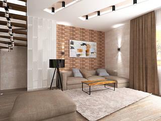 Дизайн интерьера: Гостиная в . Автор – Профессиональный Дизайн интерьера