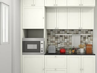 Kitchen:   by Aamuktha Designs