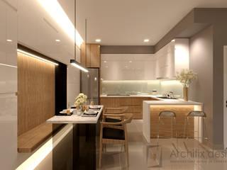 Công Ty TNHH Archifix Design Salas de jantar modernas