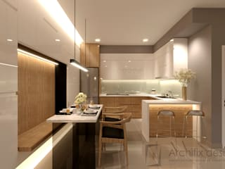 Công Ty TNHH Archifix Design ห้องทานข้าว