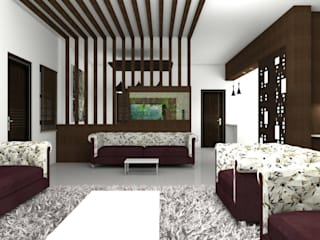 Interiors Modern style bedroom by Kruthi Interiors Modern
