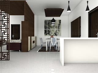 Interiors Modern dining room by Kruthi Interiors Modern