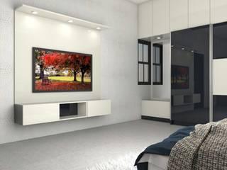 Interiors Modern living room by Kruthi Interiors Modern