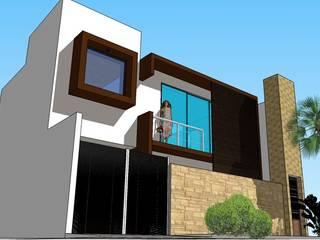 CASA M&M Casas minimalistas de Grupo Constructor de Xalapa Minimalista