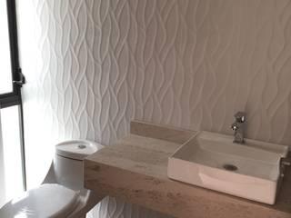 """Casa """"Rincón del Amanecer"""" Baños minimalistas de Cahtal Arquitectos Minimalista"""