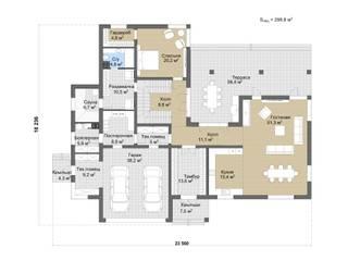 Чендлер_438м2:  в . Автор – Vesco Construction