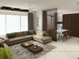 Living Area:   by Rayvat Engineering