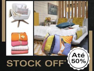 Stock Off:   por MY STUDIO HOME - Design de Interiores